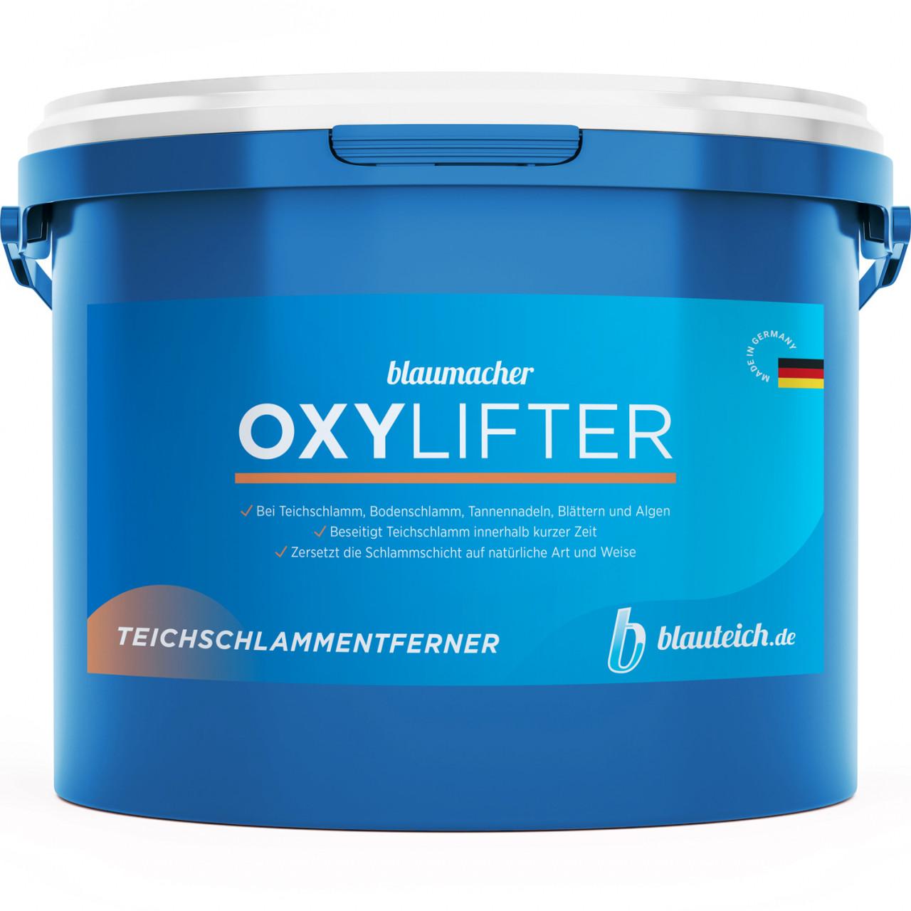 Blaumacher Oxylifter Teichschlammentferner